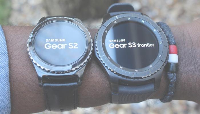 Diferencias samsung gear s2 y s3