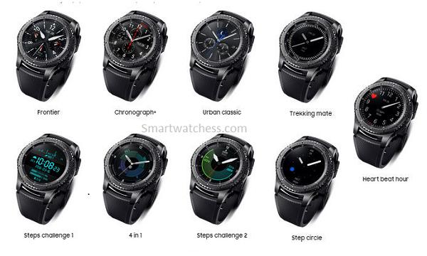 Samsung Gear S3 Frontier 2021 Smartwatchess