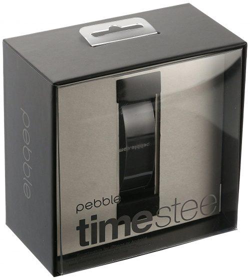 pebble time steel precio
