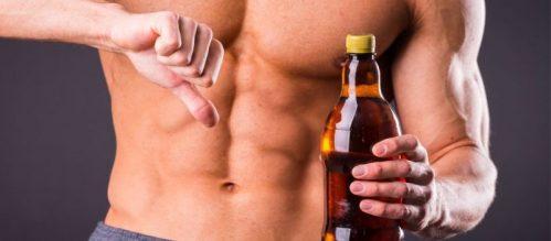 beber alcohol luego de entrenar